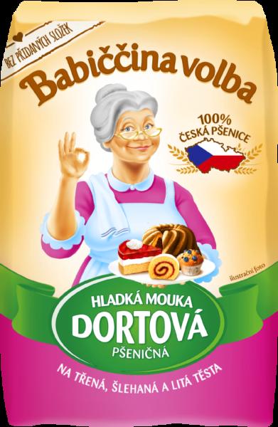 Hladká mouka dortová pšeničná - Babiččina volba