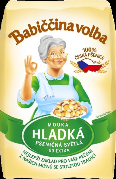 Mouka hladká pšeničná světlá - Babiččina volba