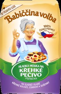Hladká mouka na křehké pečivo pšeničná - Babiččina volba
