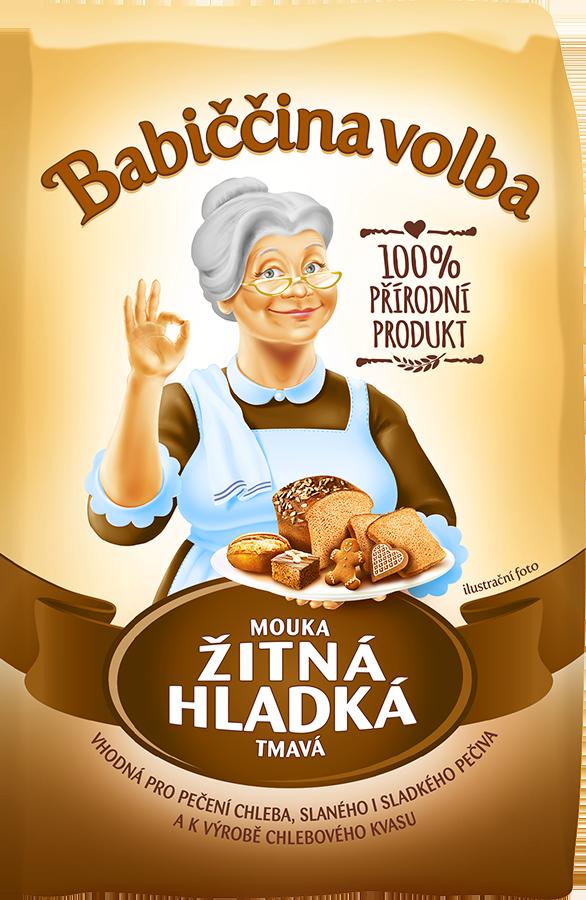Mouka žitná chlebová - Babiččina volba