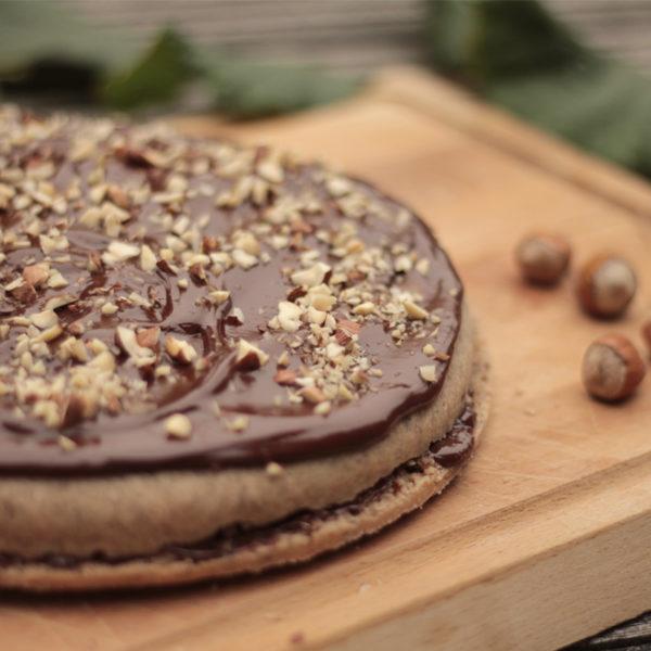 Čokoládovo-ořechová buchta