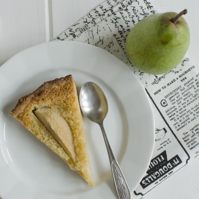 Hruškový koláč smandlemi