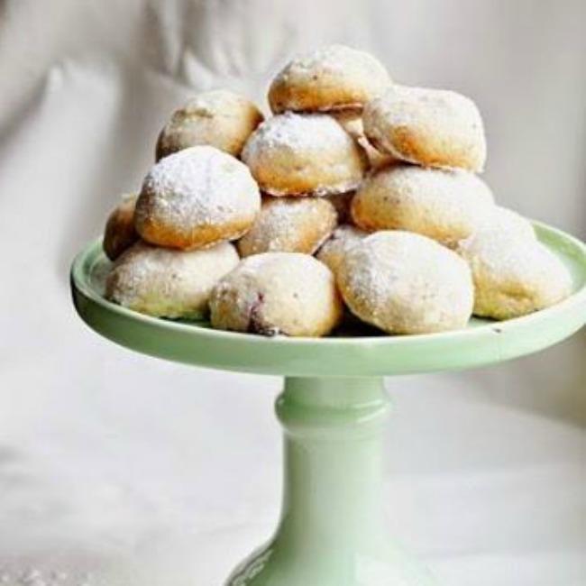 Malinové koláčky