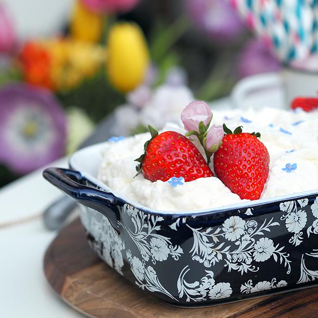 Skořicový koláč sricottou