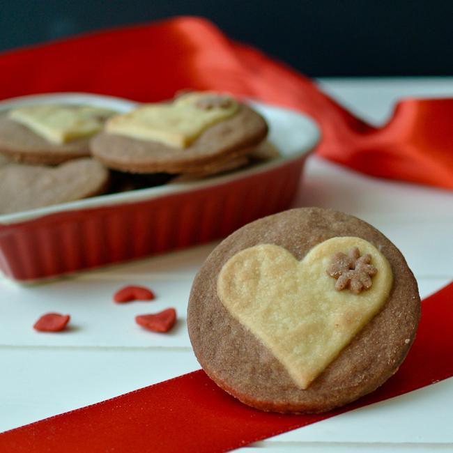 Valentýnské sušenky