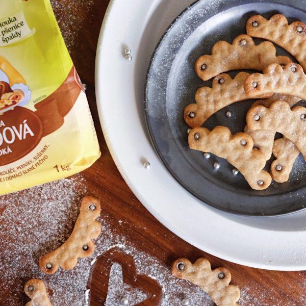 Vánoční máslové sušenky