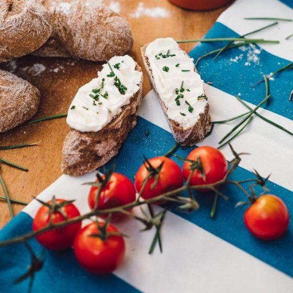Rustikální bagety se sýrem