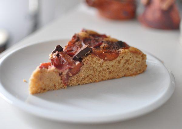 Špaldový ovocný koláč