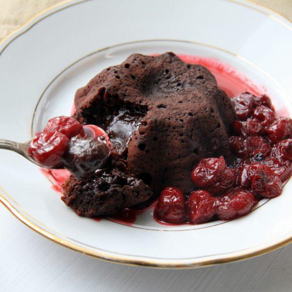 """Valentýnský dezert """"lava cake"""""""