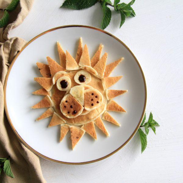 Pancake zoo – kefírové lívanečky