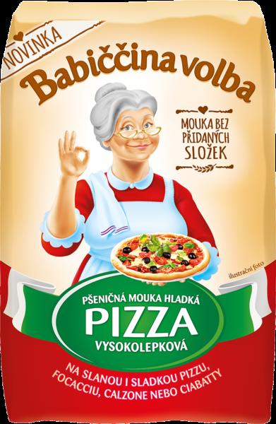 Pizza mouka hladká pšeničná vysokolepková - Babiččina volba