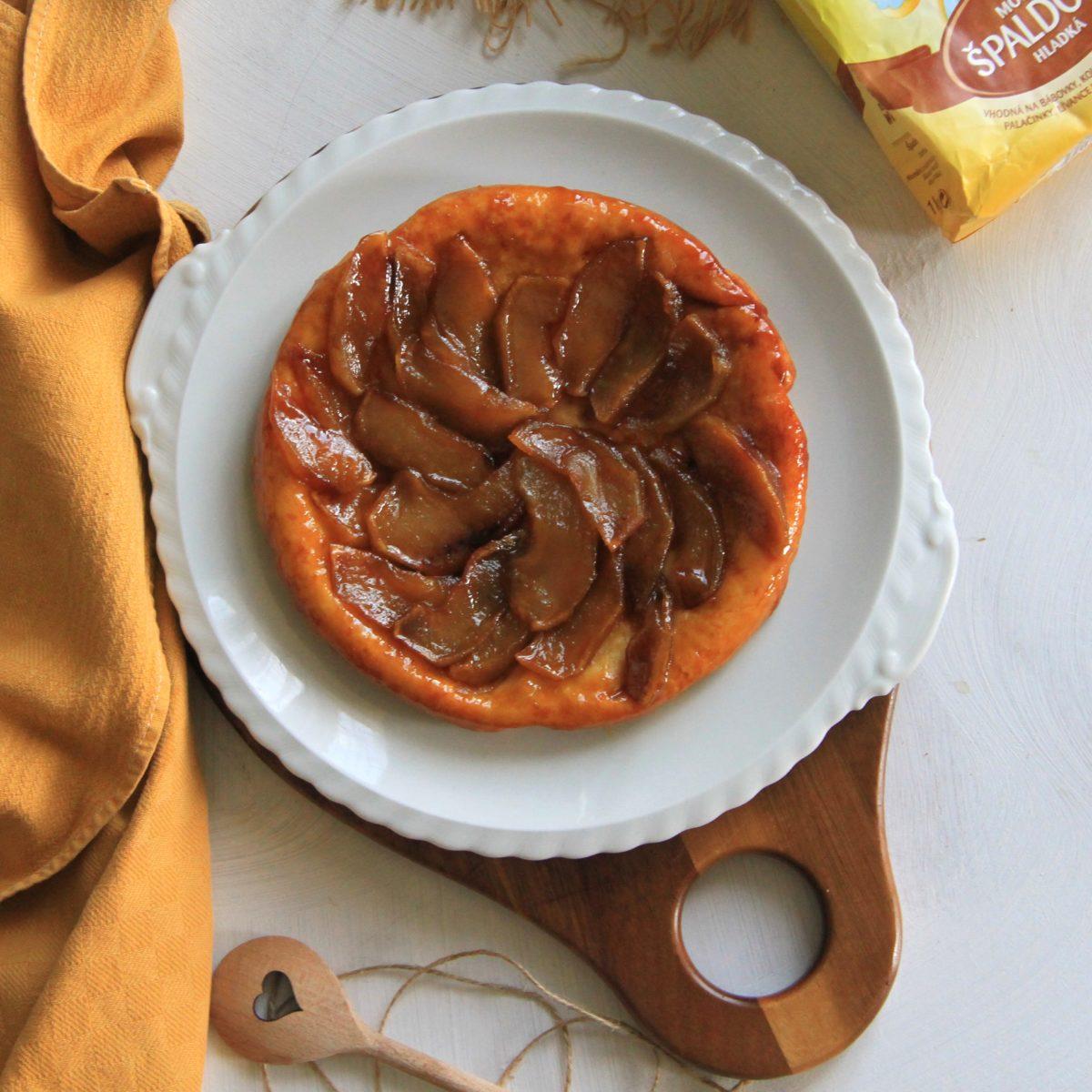 Jablečný tarte Tatin