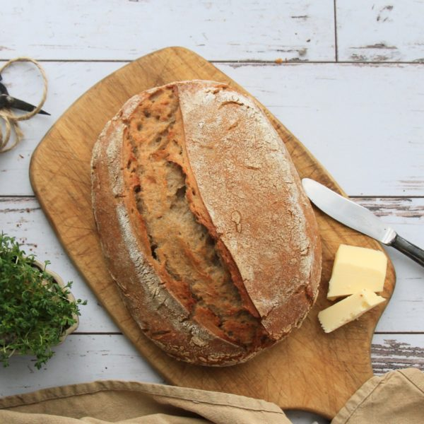 Pšeničnožitný chléb zkvasu