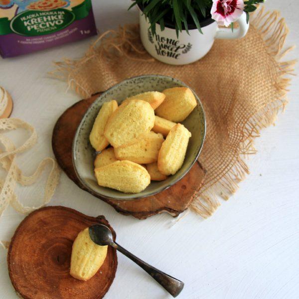 Vanilkové madlenky
